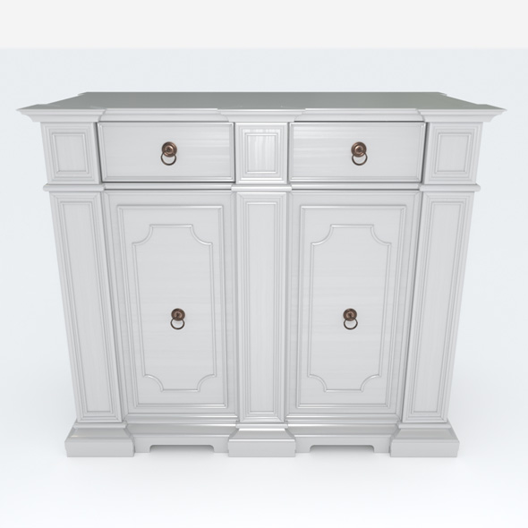 Chest of drawers - 3DOcean Item for Sale