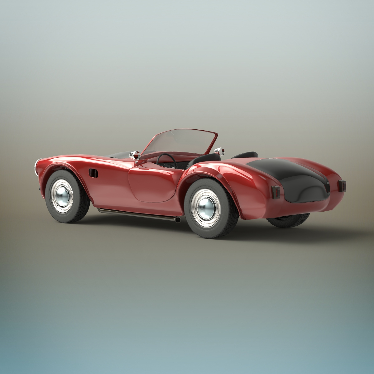 Old sport car by deepocean3d | 3DOcean