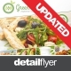 Vegetarian Restaurant Menu & Poster - GraphicRiver Item for Sale