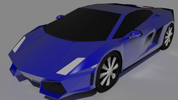 Lamborghini Gallardo - 3DOcean Item for Sale