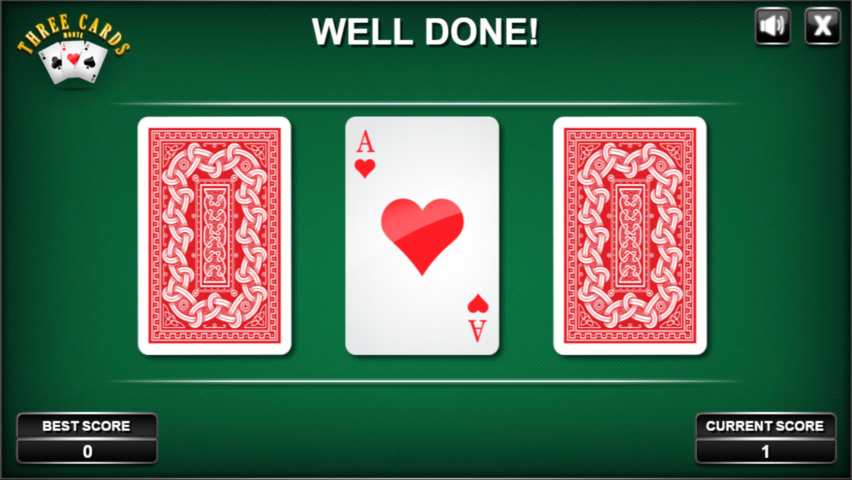 3 Cards Monte - HTML5 Casino Game by codethislab | CodeCanyon