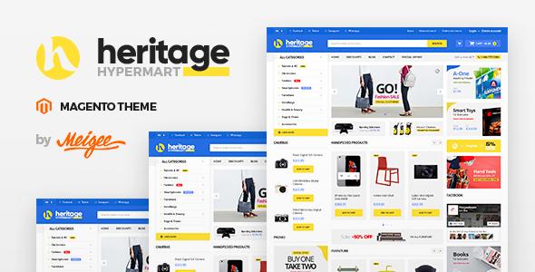 Heritage – Responsive Magento 2 Theme