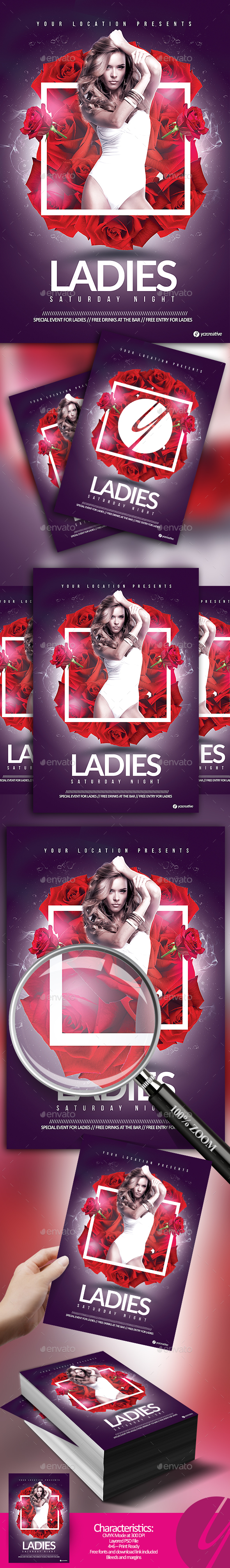 Ladies Saturday Night - Clubs & Parties Events