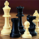 Chess Pieces Slide Move