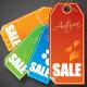Seasonal Web Labels - GraphicRiver Item for Sale
