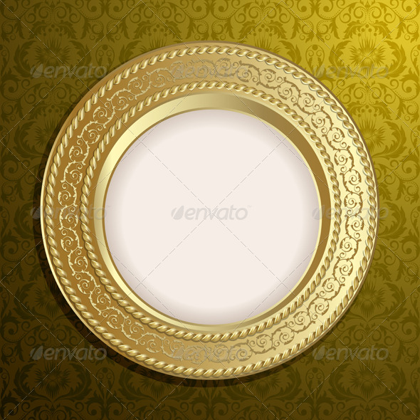 Retro frame - Backgrounds Decorative