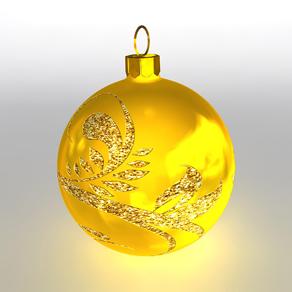 Christmas Ball 7 - 3DOcean Item for Sale