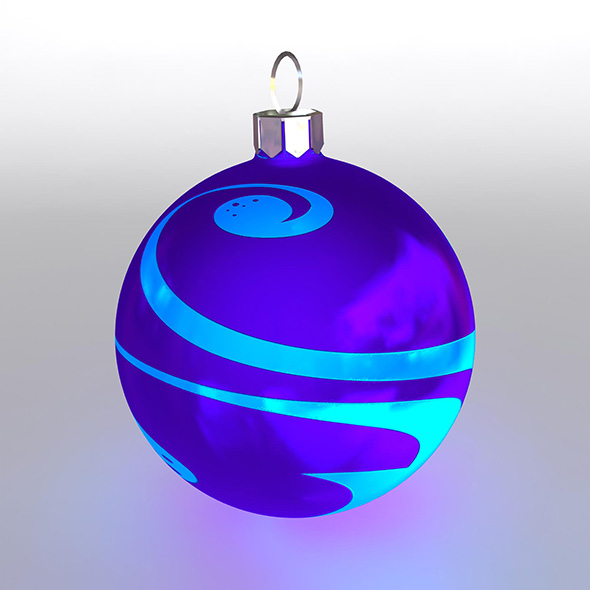 Christmas Ball 8 - 3DOcean Item for Sale