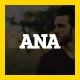 ANA | Personal Business Card Template - ThemeForest Item for Sale