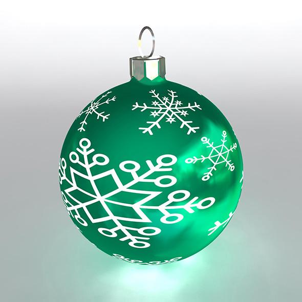 Christmas Ball 11 - 3DOcean Item for Sale