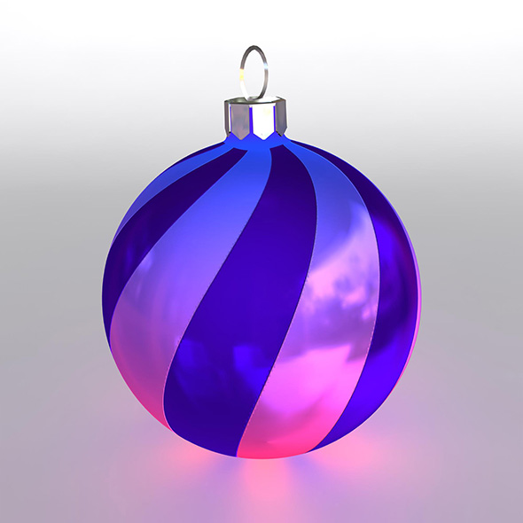 Christmas Ball 14 - 3DOcean Item for Sale