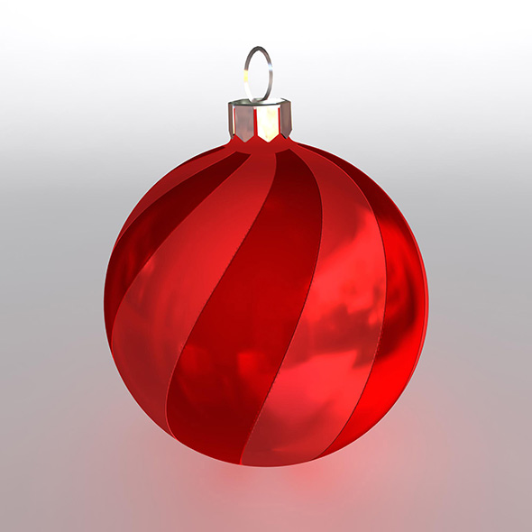 Christmas Ball 15 - 3DOcean Item for Sale