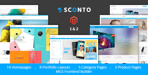 Sconto – Premium Magento 2 and 1 Theme