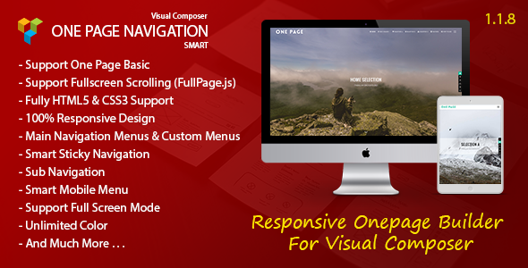 Smart One Page Navigation - Addon For Visual Composer nulled free download