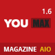 Youmax - Multi Magazine / Blog WordPress Theme
