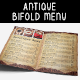 Restaurant Bifold Menu