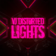 VJ Distorted Lights (4K Set 6)