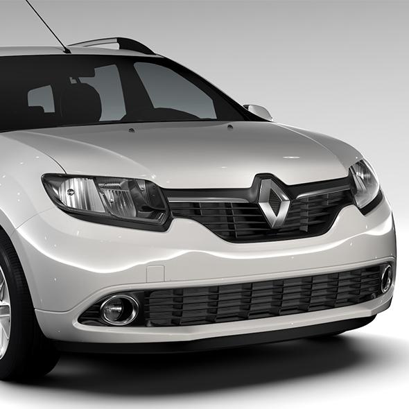 Renault Logan MCV 2016 - 3DOcean Item for Sale