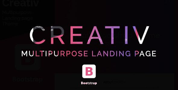 Image of Creativ- Landing Page Multipurpose Theme