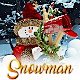 New Year Snowman 2 - VideoHive Item for Sale