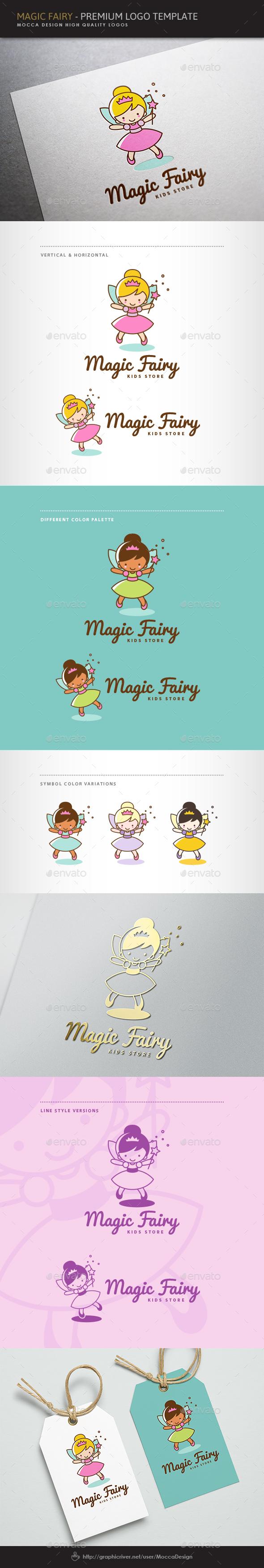 Magic Fairy Logo - Humans Logo Templates
