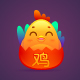 Rooster Character for Chinese New Year - GraphicRiver Item for Sale
