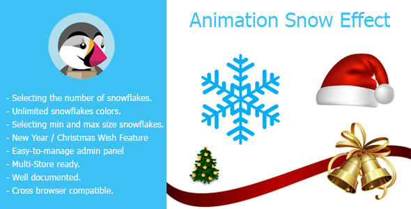 Animation Snow Effect - CodeCanyon Item for Sale