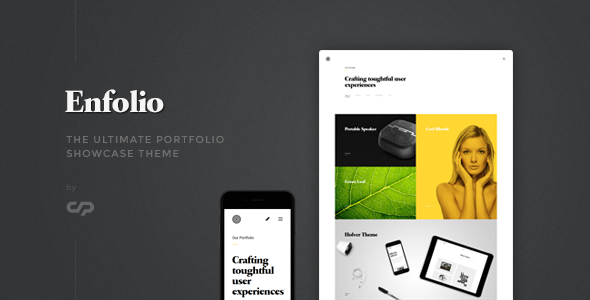 Enfolio – Portfolio Showcase WordPress Theme