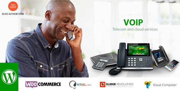 VOIP, Telecom and cloud services - Business Corporate