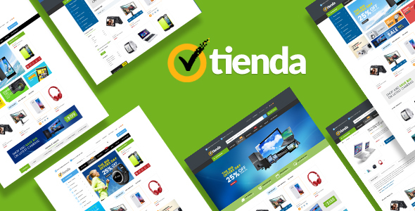 Tienda – Responsive Technology Magento Theme nulled