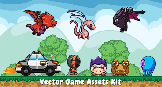 Vector Game Assets Kit