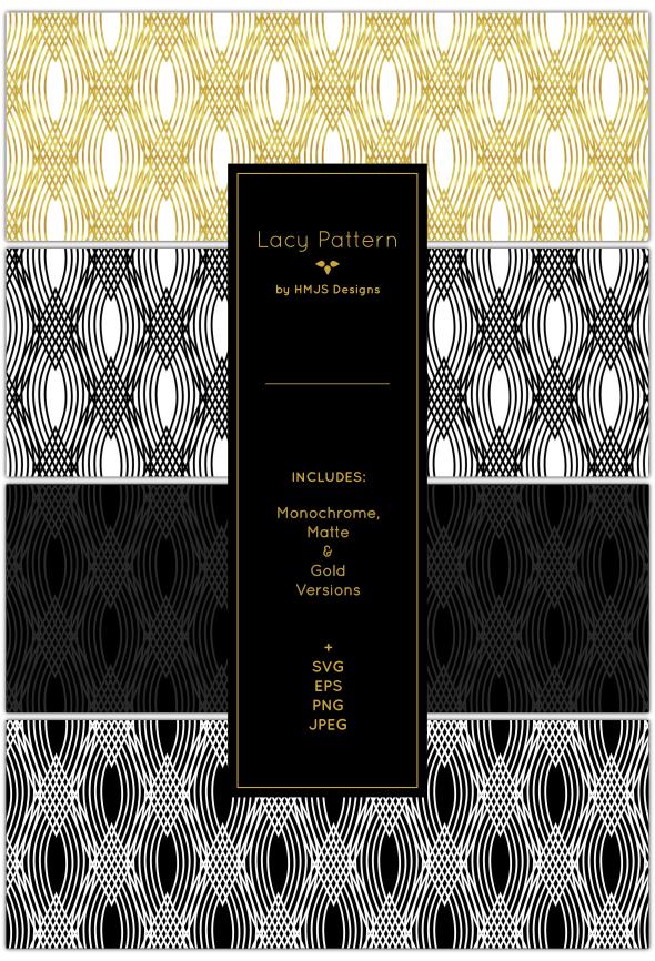 Lace Pattern Set - Textures / Fills / Patterns Photoshop