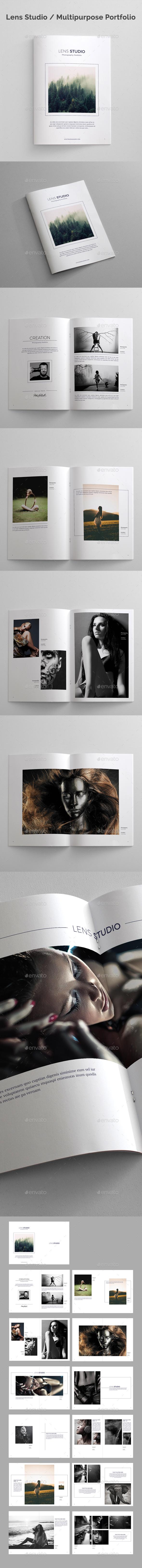 Lens Studio / Multipurpose Portfolio - Portfolio Brochures