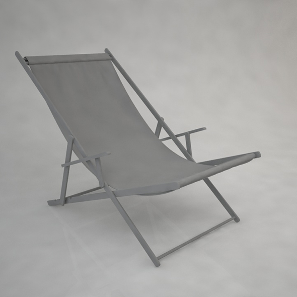 Sling Chair - 3DOcean Item for Sale