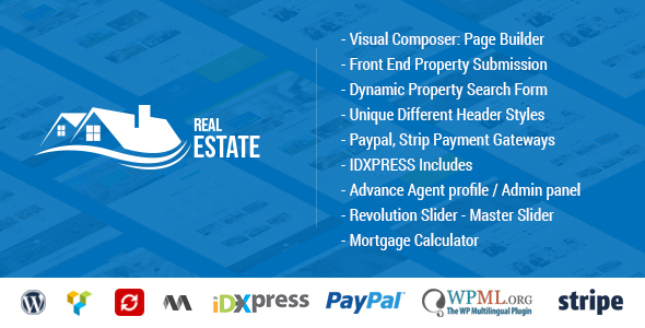 Real Estate WordPress - Real Estate WP