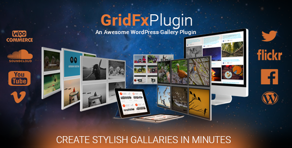 Grid FX - Ultimate Grid Plugin for WordPress - CodeCanyon Item for Sale