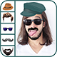 Man Hair Mustache Style Editor - CodeCanyon Item for Sale