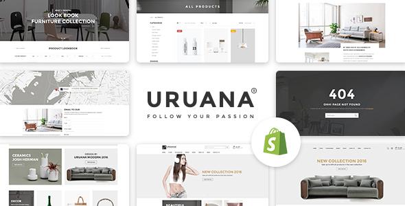 Uruana – Multi Store Responsive Shopify Theme