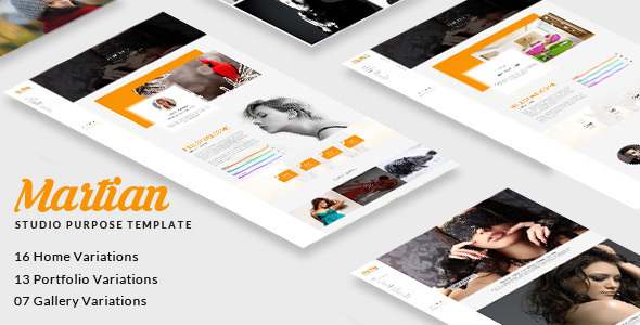 Martian - Studio Purpose HTML Template - Portfolio Creative