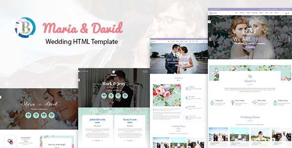 Bride – Responsive Wedding Template