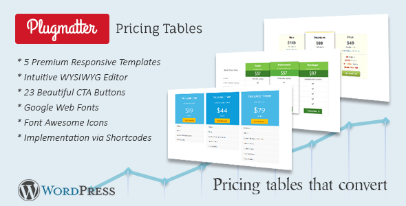 Plugmatter Pricing Table CC - CodeCanyon Item for Sale