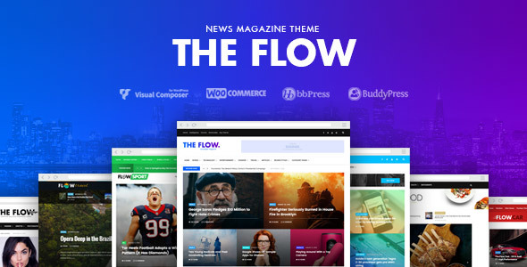 The Flow – News & Magazine WordPress Theme