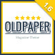 OldPaper - Ultimate Magazine & Blog Theme - ThemeForest Item for Sale