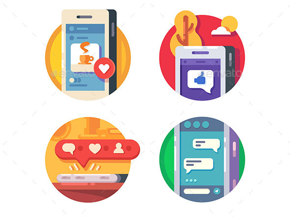 Like Putting in Social Networks - Web Elements Vectors
