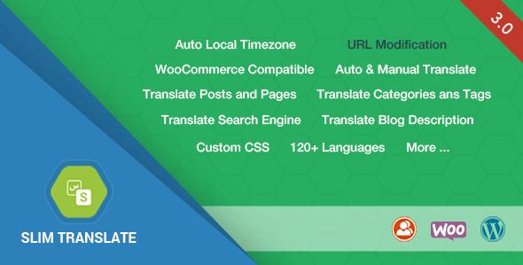 Slim Translate - Wordpress Translation Tool - CodeCanyon Item for Sale