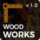 Wood Works - Renovation Services, Carpenter and Craftsman Business HTML Template