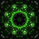 Kaleidoscope Marijuana Glitch VJ Loop - VideoHive Item for Sale