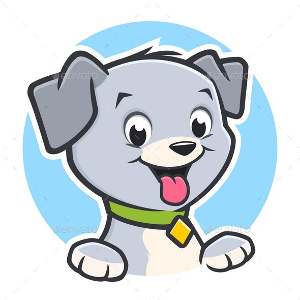 Cartoon Dog Puppy - Animals Characters