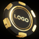 Casino Gold Chip Mockup - GraphicRiver Item for Sale