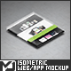 Isometric Web / App Mock-Up - GraphicRiver Item for Sale